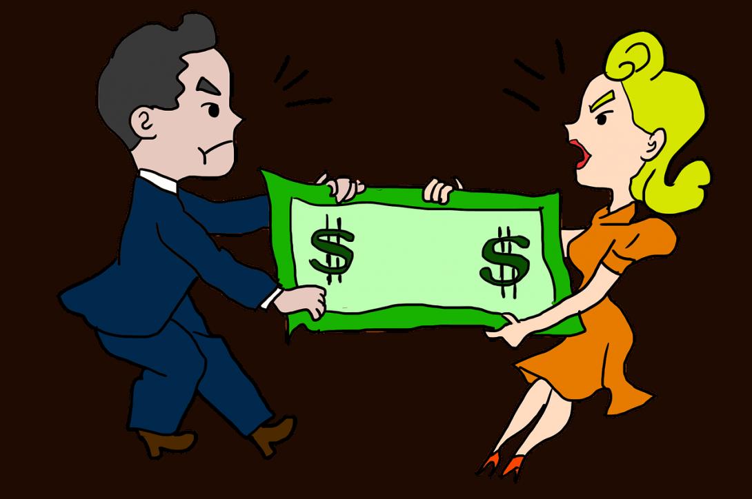 חלוקת רכוש בין זוג